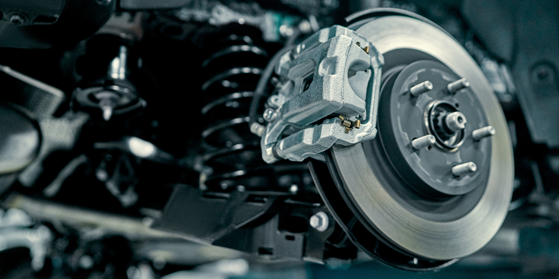 Disc brake of the vehicle for repair,